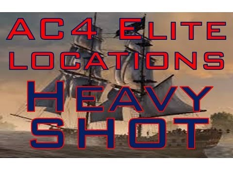 AC4: Elite Heavy Shot Upgrade How To/Location VERY EASY   Ambergris Key/Misteriosa