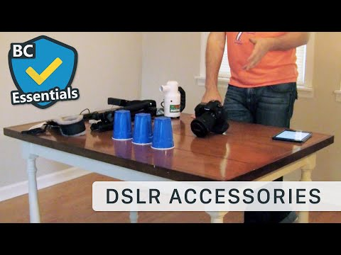 Essential Accessories For Every DSLR Camera