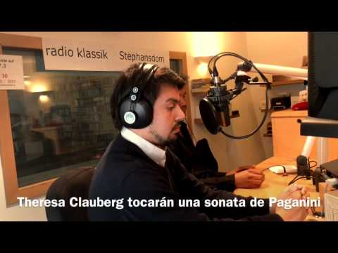 Oscar Mendoza - Interview on Radio Klassik Stephansdom