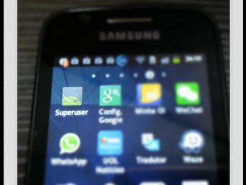 Galaxy Y - Ativando modo Super Usuário (root)