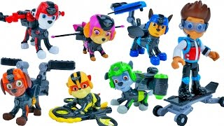 PAW PATROL MISSION PAW TOYS RYDER CHASE MARSHALL SKYE ZUMA RUBBLE NEW PUP PACKS