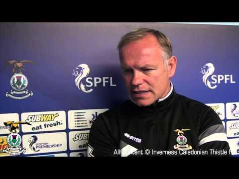Inverness CT : John Hughes Preview v Celtic : 23/08/14