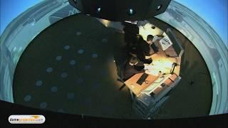 DLR e.V. Braunschweig 360° Tower Simulator by domeprojection.com