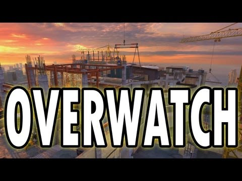 MW3 Jumps and Spots - Overwatch (Modern Warfare 3 New Jump Spots DLC Gameplay)