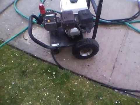 Water Driver Series Industrial Pressure Washer W Honda 5