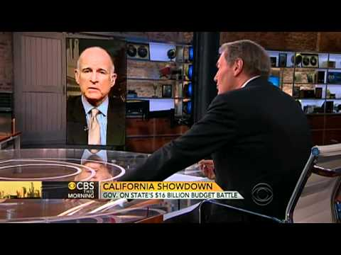 Calif. Gov. Jerry Brown on his budget battle
