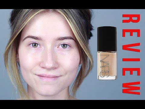 Review/Demo: Nars Sheer Glow Foundation