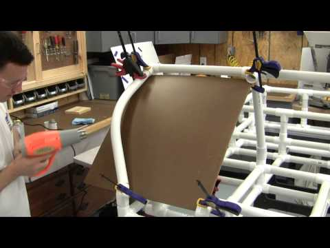 PVC Buggy Part 2 - Bending the PVC