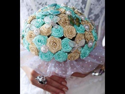Свадебные букеты своими руками пошаговые фото