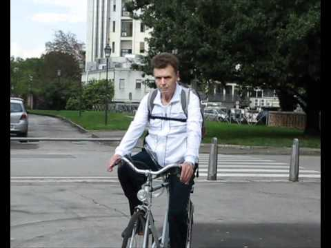 Italian Total Artificial Heart Patient Rides Bicycle with Freedom Driver