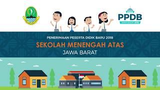 PPDB SMA Provinsi Jawa Barat