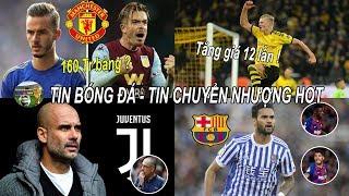 💥Tin bóng đá 12/02 | MU duyệt chi 160TR đón bộ đôi tiền vệ hay nhất nước Anh, Pep sẽ về Juventus?