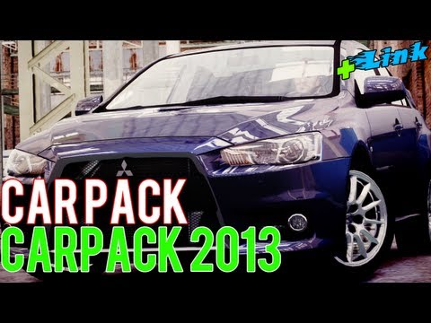 GTA 4 - Car Pack 2013 + Great Graphics [ GTA 4 Car Pack ]
