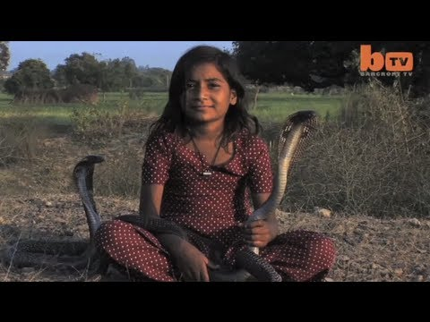The Incredible Indian Snake Girl video