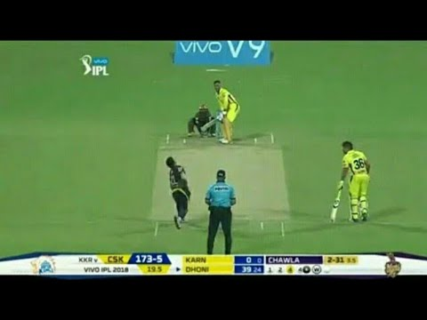 CSK Vs KKR Match Highlights Full Match Highlights...! IPL 2018