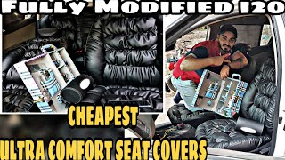 Cheapest ULTRA COMFORT SEAT COVERS/How Ultra Comfort SeatCovers are Made/Modified i20/Modified Cars