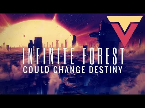 How the Infinite Forest Could Change Destiny 2 (Sick PC PVP Gameplay in Background)