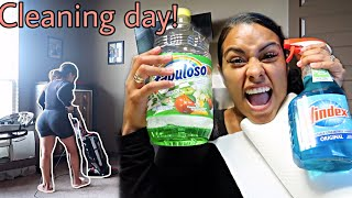 All day cleaning motivation clean with me!!
