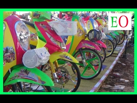 Kontes Motor Thailook,Street Racing, fashion Daily, custom Indonesia