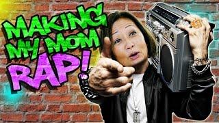 Making my Mom Rap like Eminem