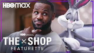 LeBron James & Bugs Bunny Talk Space Jam: A New Legacy | The Shop: Uninterrupted | HBO Max
