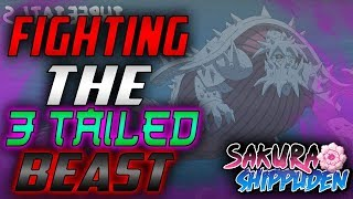 [SS2] THE 3 TAILED BEAST IN SS2 | FIGHTING THE 3 TAILS WITH IBEMAINE, ROBALL, & BIG PAPAMAUI | SS2