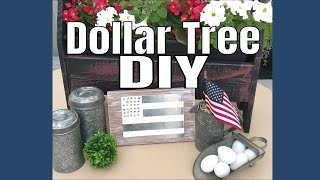 Dollar Tree Farmhouse DIY!
