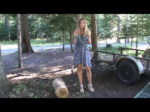 Easily Pick Up Firewood With The PINCH-A-LOG