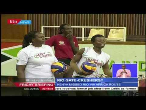 Kenya women volleyball team to meet colombia in Rio qualifier