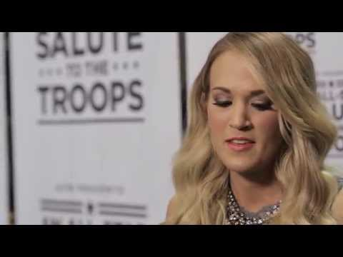 ACM Presents: An All-Star Salute to the Troops Preview - Carrie Underwood