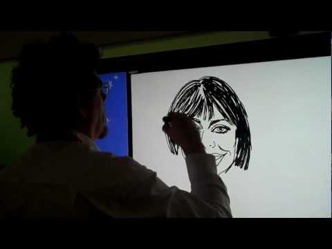 Sharp interactive TV (CES 2012)