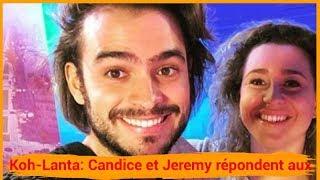 Koh-Lanta: Candice et Jeremy répondent aux rumeurs de couple !