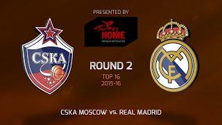 ЦСКА М : Реал Мадрид