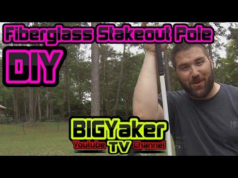 DIY - Fiberglass Stakeout Pole