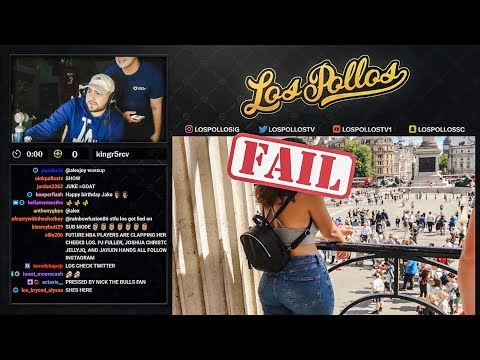LosPollos Tries To Get Girls Number On Stream & Backfires thumbnail