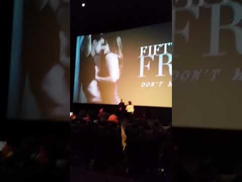 Jamie Dornan, Dakota Johnson, E L James & James Foley Present Fifty Shades Freed In LA February 1