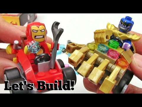 LEGO Mighty Micros: Iron Man vs. Thanos 76072 - Let's Build!