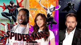 Spider-Man: Into the Spider-Verse Behind The Voices & B-Roll | Hailee Steinfeld