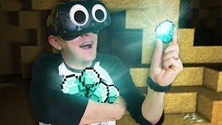 WE STRUCK DIAMOND!   Minecraft Mixed Reality [Ep 13]