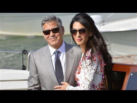 George Clooney, Amal Alamuddin Wed in Venice