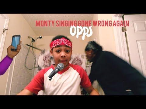 Monty Singing 🎤Gone Wrong