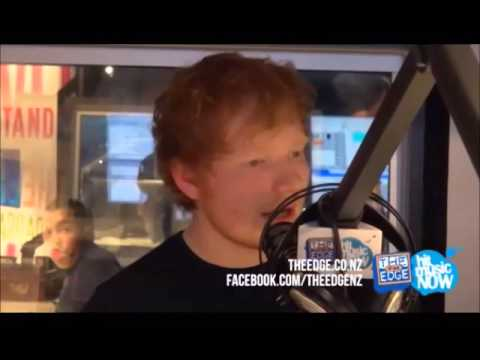 Ed Sheeran - New Zealand Interview (includes I See Fire and Tenerife Sea)