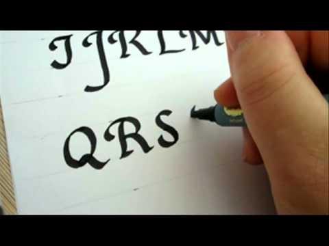 Sharpie Calligraphy
