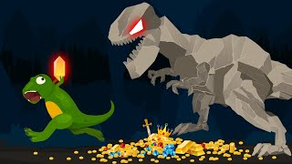 TREASURE HUNTING with Dinosaurs || Dino-X episode 07 (Funny cartoon for kids)