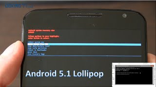 Manually Install Official Android 5.1 Lollipop On Nexus Devices