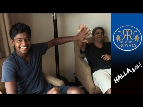 SANJU SAMSON & TAMBE on INDIA V AUS ODI Series