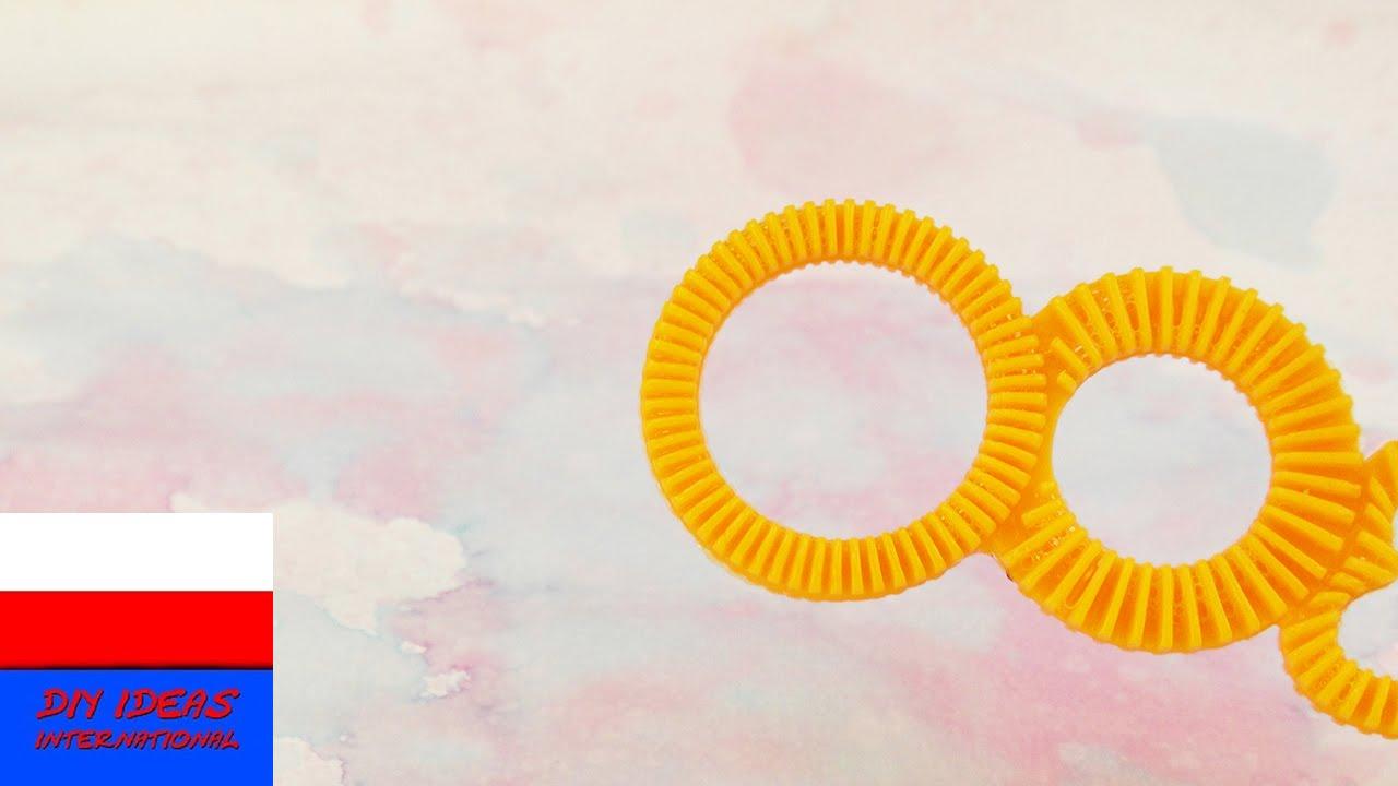 Malowanie bańkami mydlanymi | kolorowe bańki na papierze