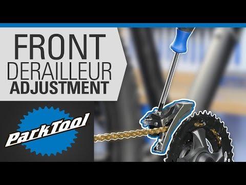How to Adjust a Front Derailleur