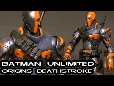 Batman vs Deathstroke Arkham Origins Arkham Origins Deathstroke
