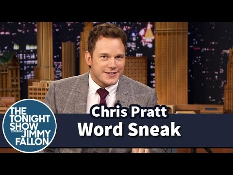 Word Sneak with Chris Pratt